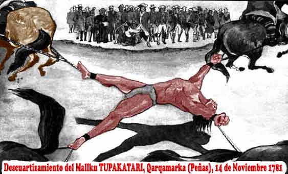 Tupak katari y el Cerco de La Paz
