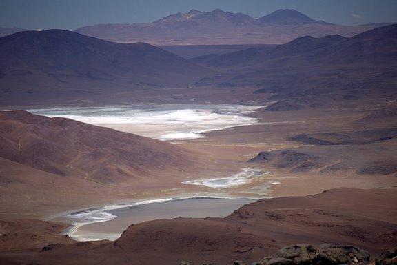 Uyuni Salt lakes and Volcanoes