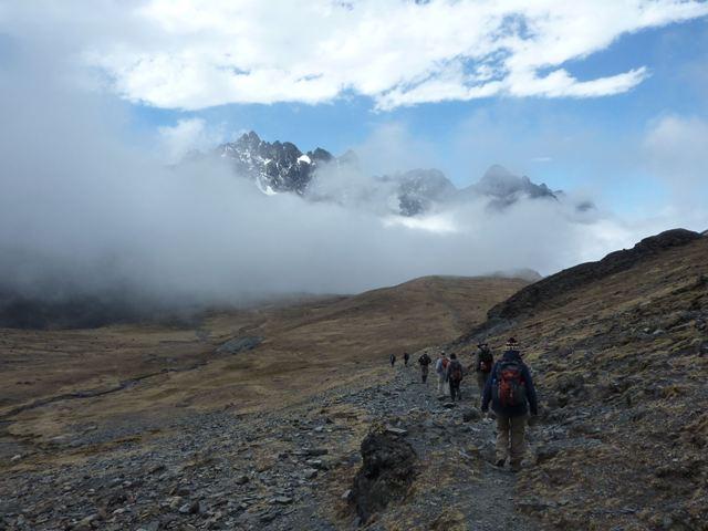 Takesi Trekking in La Paz Bolivia