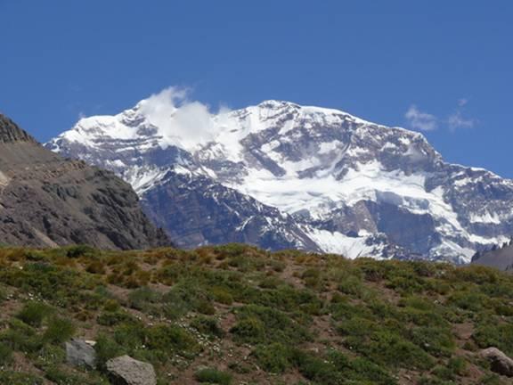 Aconcagua el más alto de Sud América